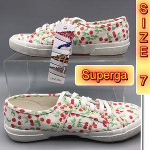 Superga Cherry 🍒 Design Comfy Sneakers 7
